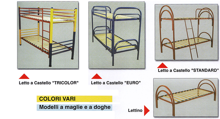 Letto A Castello Napoli.Materassi Somma Letti E Sommier Ignifughi Provincia Di Napoli
